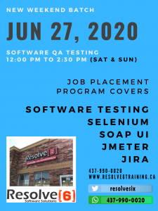 qa training and job placement